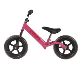 "Pex Kids kinderscooter loopfiets 12"" roze"