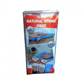 ONDERHOUDSET NATUURSTEEN IN BOX (nano+triple+doek)