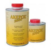AKEPOX 2000  dikvloeibaar transp/honinggeel - set 1.5KG