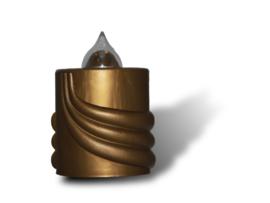 Grafkaars elektrisch 1 jaar - goud