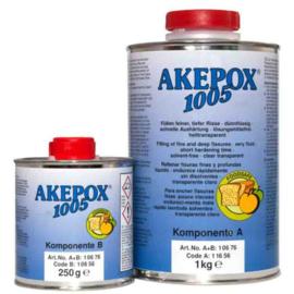 AKEPOX 1005 dunvloeibaar transparant - set 1.25KG