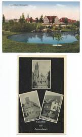 SET van 2 ansichtkaarten – Amersfoort – 1932 en 1952