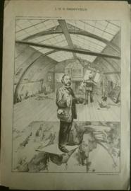 Prent – J.D.G. GROOTVELD - 1890
