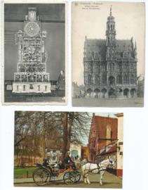 SET van 11 ansichtkaarten - België