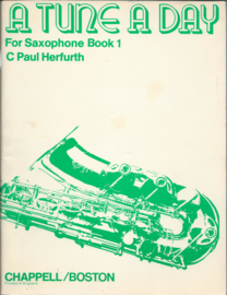 A TUNE A DAY For Saxophone Book 1 - C Paul Herfurth - 1968