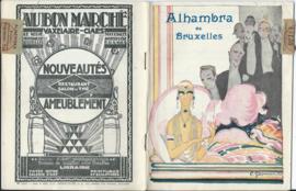"Programmaboekje Alhambra de Bruxelles:  ""Bruxelles en Fleurs"" - ca. 1926"