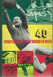 40 SPORTEN EN SPELEN IN WOORD EN BEELD – 1954
