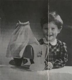 Bouwtekening – POPPENWIEGJE – S3021 - 1955