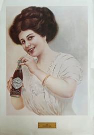Coca Cola poster: Calender Girl - 1970 (1909)