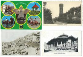 SET van 4 ansichtkaarten – België – o.a. 1906