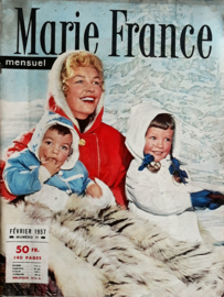 Magazine – Marie France (mensuel) – FÉVRIER 1957 – NUMÉRO 11
