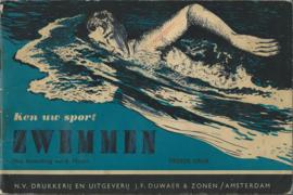 ZWEMMEN – B. Planjer – jaren '50-'60