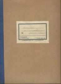 HANDLEIDING – DEEL 78 - METAALBEWERKING TWEEDE HALVE JAAR – WERKTUIGKUNDE - 1947