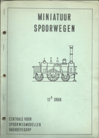 Catalogus - MINIATUUR SPOORWEGEN - 1966