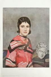 Prent – TWEE SCHOONHEDEN door B. Peizel - 1931