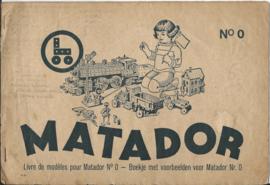 Boekje met voorbeelden voor Matador Nr. 0 - ca. 1953
