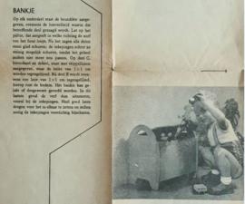 Bouwtekening – BANKJE – S5390a, S5390b en S5390c - 1956