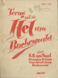 Terug uit de Hel van Buchenwald – K.R. van Staal - 1945