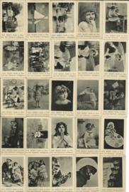 SET van 25 reclame fotootjes - ALB. HEIJN's - 'Zwartjes' - in album - ca. 1910