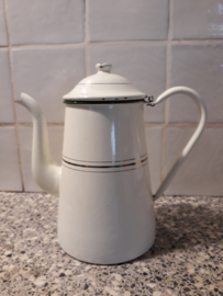 Emaille koffiepot