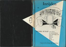 Inrijden – HENRI KNAP - 1957
