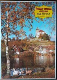 JIGSAW PUZZLE – PALACE-PUZZLE JIGSAW - WERDENBERG– jaren '60