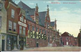 SET van 2 ansichtkaarten - Middelburg - ca. 1915 (#)