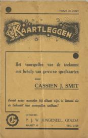 KAARTLEGGEN – CASSIEN J. SMIT - 1939