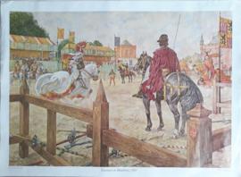 Poster: Toernooi te Haarlem, 1305 - ca. 1975 (1961)