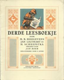 DERDE LEESBOEKJE BIJ HOOGEVEEN'S LEESMETHODE - 1958