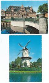 SET van 2 ansichtkaarten – Middelburg