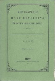 WESTKAPELLE – HARE BEVOLKING, WESTKAPELSCHE DIJK. - heruitgave - 1972