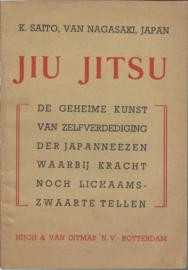 JIU JITSU – K. SAITO, VAN NAGASAKI, JAPAN - 1946