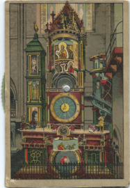 PRENTBRIEFKAART – Strasbourg/STRASSBURG - L'horloge astronomique de la Cathédrale – 1919-1938