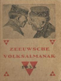 ZEEUWSCHE VOLKSALMANAK - 1933