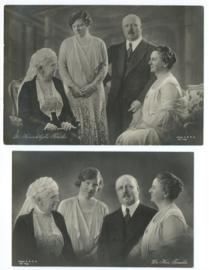 Kaartensetje ORANJE07 - 2 stuks – jaren '30