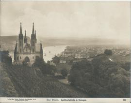 Prent – FOTO – Der Rhein. Apollinariskirche m. Remagen - 1908