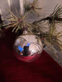 Kerstbal zilver