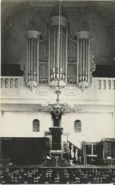 Ansichtkaart - Kerkorgel Oost-Souburg - 1935