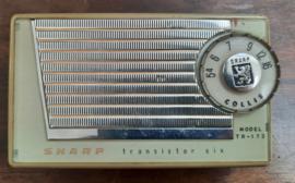 SHARP MODEL TR-173 – ca. 1963