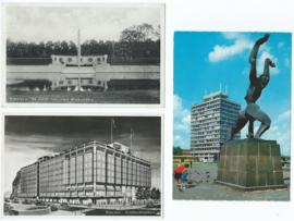 SET van 3 ansichtkaarten – Rotterdam