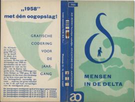 AO (Actuele Onderwerpen) - nr 703 - MENSEN IN DE DELTA - 1958