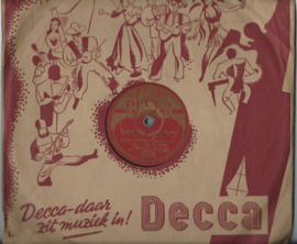 "EDDY CHRISTIANI met Accordeola - MARIA VAN BAHIA / SIGNORITA ESTRALLITA - 10"" - 1949 (♪)"