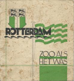 ROTTERDAM ZOO ALS HET WAS - 1940