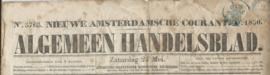 NIEUWE AMSTERDAMSCHE COURANT. A. 1850. – No. 5765.