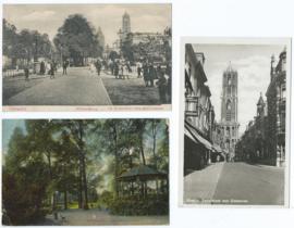 SET van 3 ansichtkaarten – Utrecht