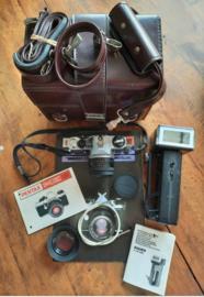Fotocamera – PENTAX ME Super met COSINA LENS (50mm 1:2), in koffer – 1982