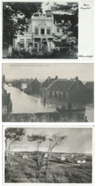 SET van 3 ansichtkaarten – Ellewoutsdijk-Hontenisse-Vrouwenpolder