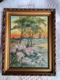 Schilderij L. Boel
