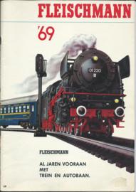 FLEISCHMANN - Catalogus - '69